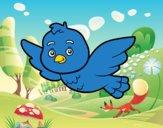 Un pájaro