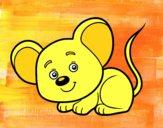 Dibujo Un ratoncito pintado por Amayrani3
