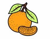 Una mandarina