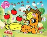 Applejack y sus manzanas