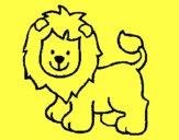 León feliz