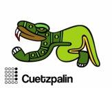 Los días aztecas: el lagarto Cuetzpalin
