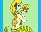 Sirena y perla