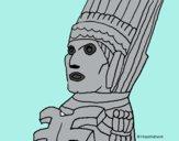 Dibujo Gigante de Tula pintado por Ocesno