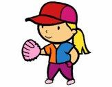 Jugadora de béisbol