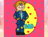Dibujo Padre oso pintado por Dulces26
