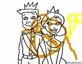 Príncipe y princesa