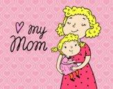 Dibujo Quiero a mi mamá pintado por boomboom