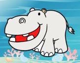 Hipopótamo pequeño