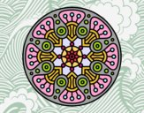 Mandala crop circle
