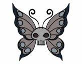 Dibujo Mariposa Emo pintado por CACHILUCHA