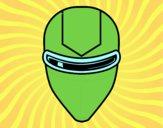 Máscara gafas rayo láser