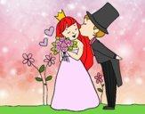 Príncipes recién casados