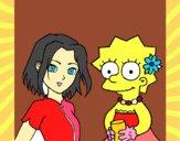 Sakura y Lisa