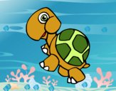 Dibujo Tortuga terrestre pintado por jovankaS