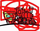 Tren con vagón
