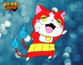 Jibanyan super feliz