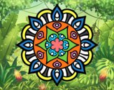 Dibujo Mandala vida vegetal pintado por jasm2017