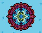 Dibujo Mandala vida vegetal pintado por Sofimiro10