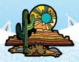 Dibujo Desierto de Colorado pintado por Ytap