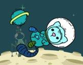 Dibujo Gatito astronauta pintado por Ytap
