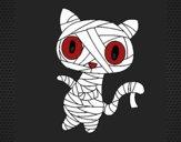 Dibujo Gato garabato momia pintado por NatyG