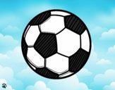 Dibujo Balón de fútbol pintado por Michellinh