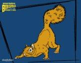Dibujo Bob Esponja - La roedora al ataque pintado por edymhar