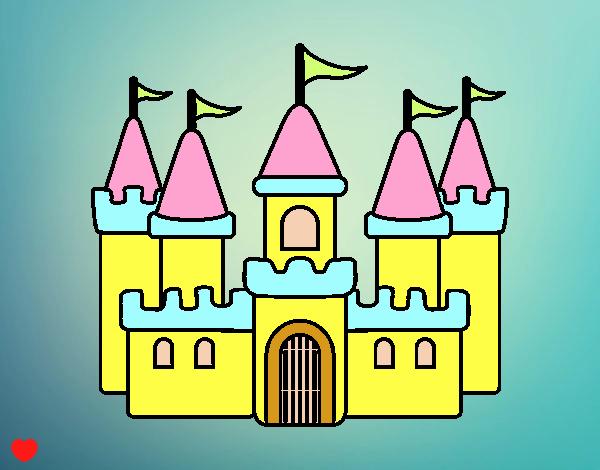Dibujo Castillo fantástico pintado por Osiita