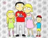 Dibujo Familia unida pintado por Michellinh