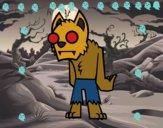 Hombre lobo - zombie