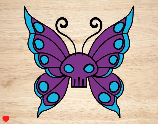 Dibujo Mariposa Emo pintado por Osiita
