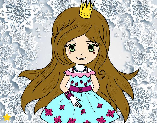 Dibujo Princesa primavera pintado por Osiita