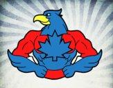 Dibujo Super ave pintado por alex342