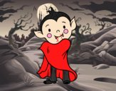 Vampiro de Halloween