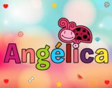 Dibujo Angélica pintado por angieyujan