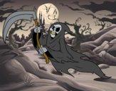 Dibujo Fantasma de la muerte pintado por Joer