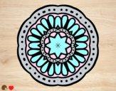 Dibujo Mandala mosaico pintado por Michellinh