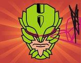 Dibujo Máscara de supervillano pintado por raquelloki