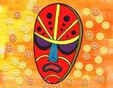 Dibujo Máscara enfadada pintado por raquelloki