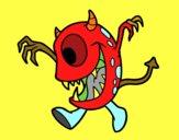 Monstruo con un ojo