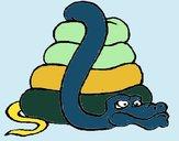 Serpiente grande