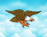 Dibujo Tatuaje de águila pintado por Joer