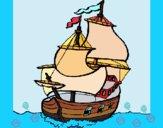 Dibujo Barco pintado por Ramon45