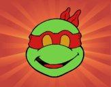 Máscara Tortuga ninja