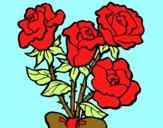 Ramo de rosas