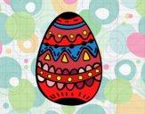 Dibujo Un huevo de pascua decorado pintado por MARTHAISA