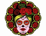 Calavera mejicana femenina