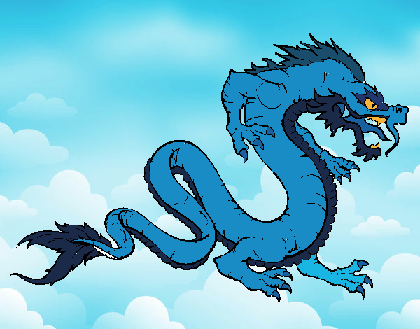 Dibujo Dragón caminando pintado por Ytap