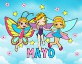 Dibujo Mayo pintado por yuleiby